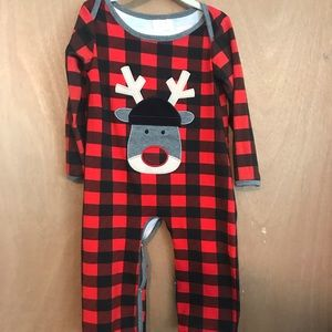 Only one left buffalo plaid reindeer
